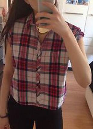 Укороченная рубашка new look