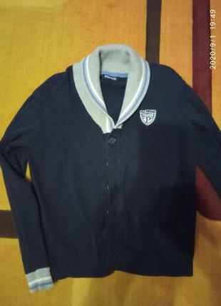 Кардиган синий primigi 140 см, 10 лет