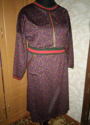 Платье оверсайз в стиле gucci