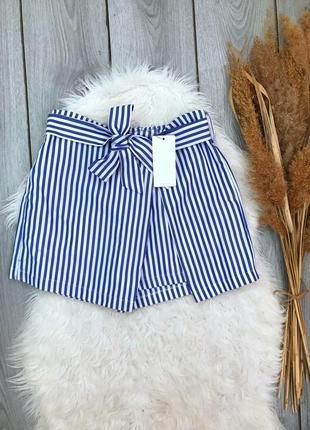 Vera&lucy новая юбка шорты спереди завязывается очень красиво выполнены s 36 8 m 38 10