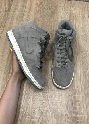 Nike 39 р кожа кроссовки сникерсы ботинки черевики кросівки