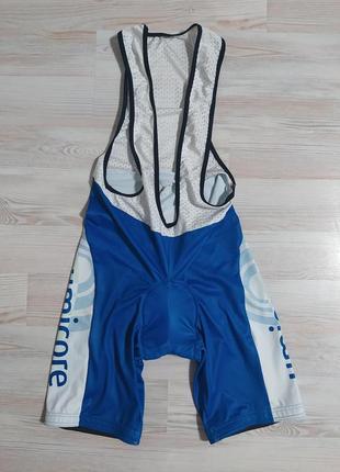 Велошорты с лямками и памперсом/велокомбинезон/велотрико  vermarc  l(50)