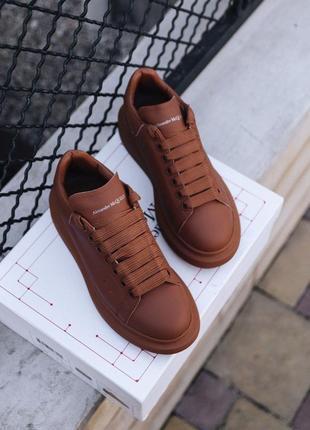 Кросівки mcqueen chestnut premium кроссовки кеди кеды