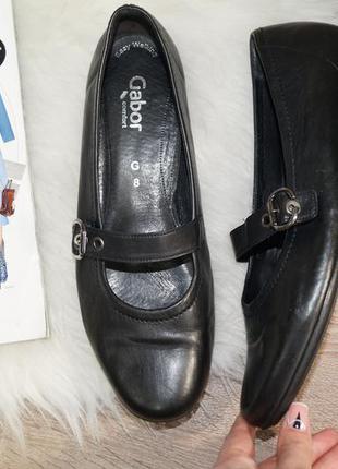 (42р./28см) gabor! кожа! комфортные туфли