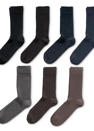 5 шт⚙ качественные мужские носки от tchibo(германия), размеры: 35-38