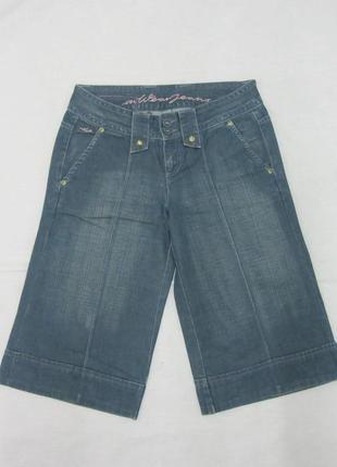 Шорты кюлоты джинсовые inwear размер 36, s