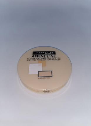 Компактная пудра maybelline new york affinitone   20 золотисто-розовый
