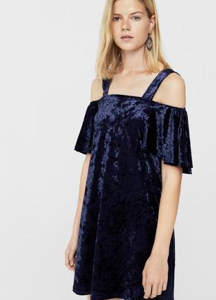 Нарядное платье mango с велюра  dr1846215  mango