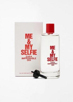 Парфюмированная вода для женщин zara me & my selfie edp 120 ml
