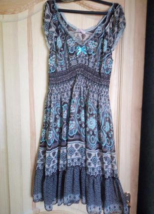 Платье believe с оборкой