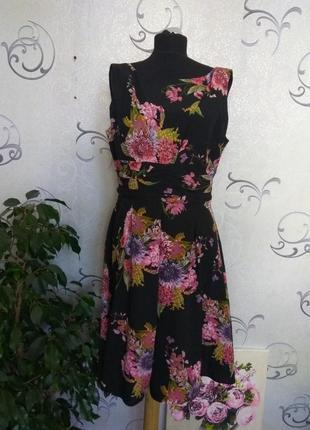 Женское платье в цветочный принт / жіноча сукня / плаття / dorothy perkins