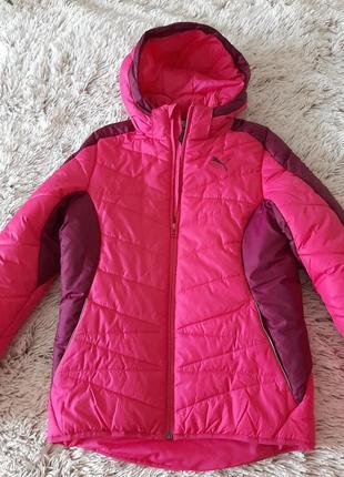 Курточка от бренда puma