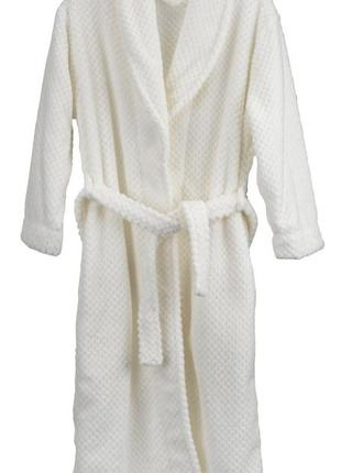 Белый халат s-m размер отменного качества