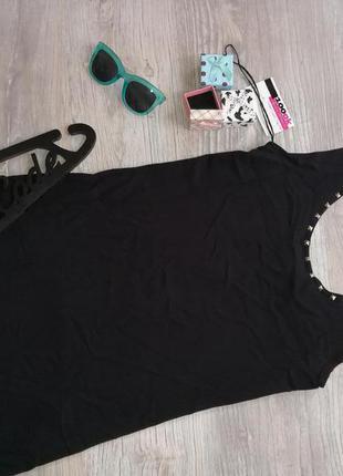 Черное платье майка от zara