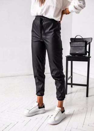 Штаны, кожаные штаны, спортивные штаны
