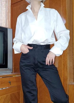 Дизайнерская блуза люксового бренда van laack