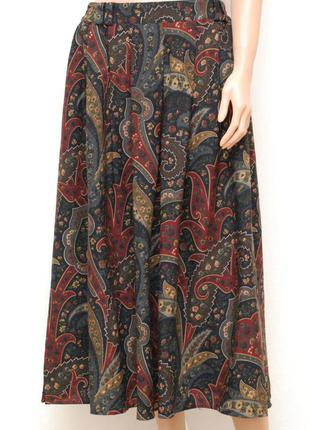 Длинная шерстяная юбка с карманами р. 12-16 basler