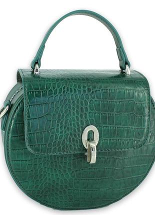Стильный женский клатч david jones зеленый
