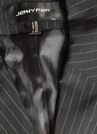 Женский классически брючный костюм в полоску jennyfer