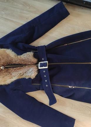 Пальто из лесицы