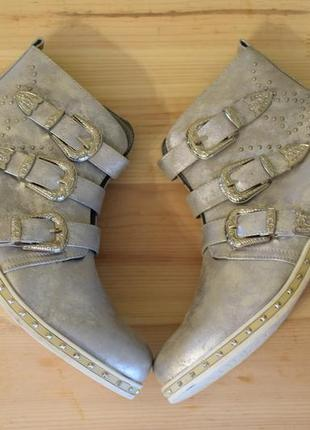 Красивый демисезонные ботинки, 41 размер
