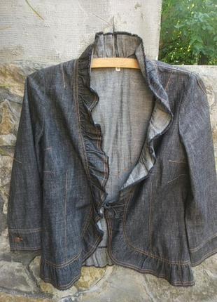 Kenzo jeans куртка пиджак