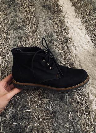 Ботинки лоферы кожаные новая коллекция скидки