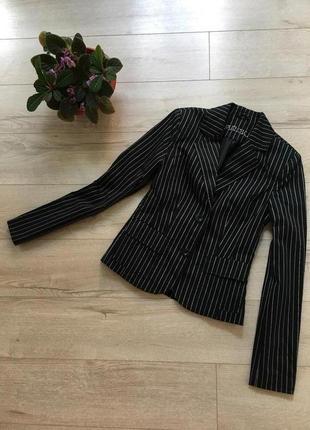Amisu-пиджак в полоску (маленький размер)