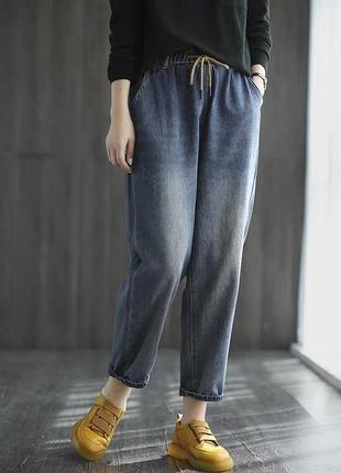 Джинсы штаны джоггеры