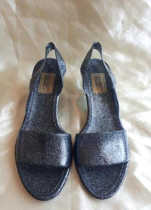 Силиконовые сандали marc jacobs