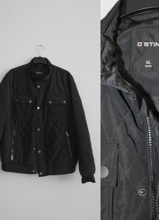 Темно-синяя мужская куртка ostin