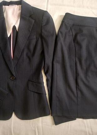 Костюм пиджак и юбка в школу