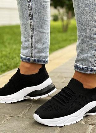 Кроссовки sebon black