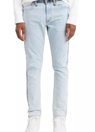 Джинсы levis flex men's 512 slim taper fit two-tone jeans