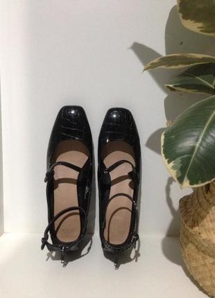 Туфли  женские с интересным принтом 41-42(27,5)