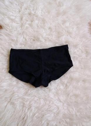 Черные плавки-шортики