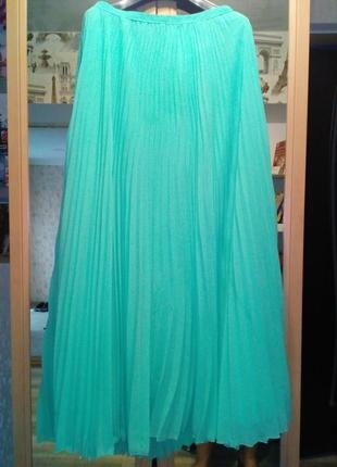 Красивая юбка в пол,  гафрэ