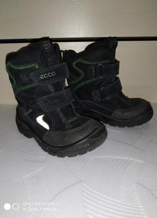 Ботинки ессо 25 размер