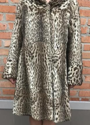 Шуба леопардова