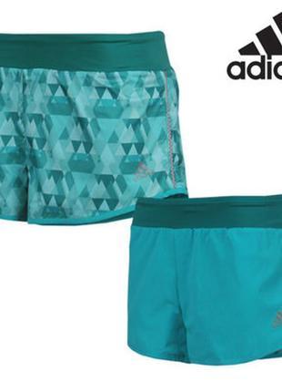 Женские двусторонние шорты для бега kanoi  adidas.