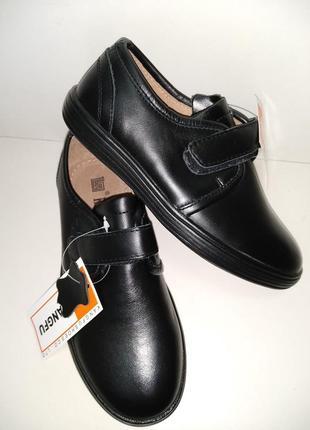 Кожа шикарні шкіряні туфлі фірми kangfu