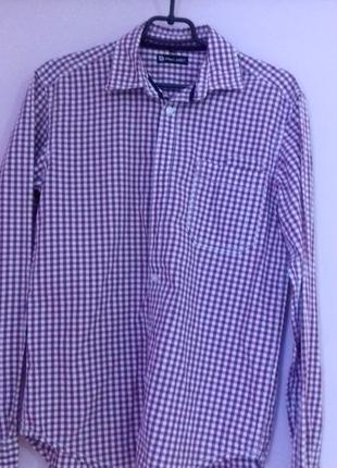Продам модну сорочку в кліточку