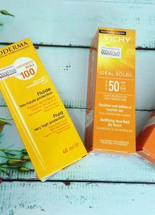 Солнцезащитные крема от известных брендов