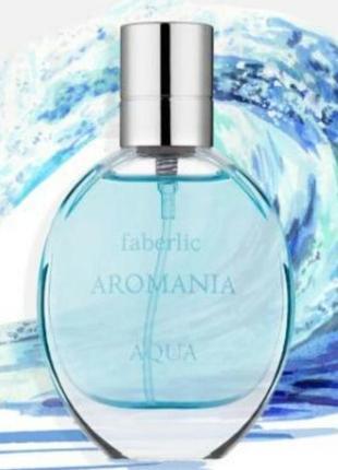 Туалетная вода aromania aqua фаберлик аромания аква свежесть свежие
