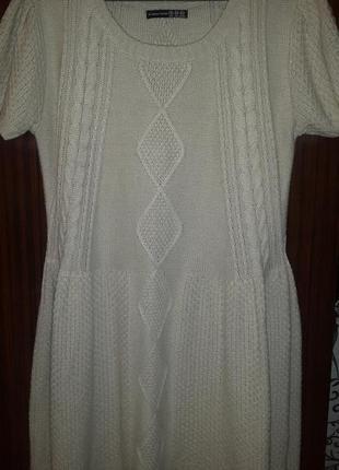 Вязаное платье с орнаментом  atmosphere