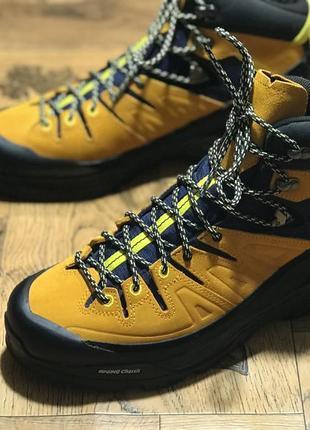 Зимние ботинки salomon x alp mid ltr gtx