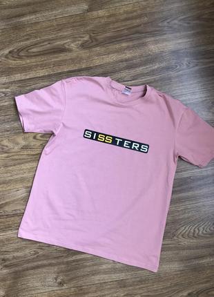 Новая футболка sissters