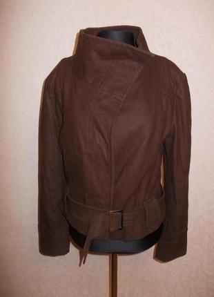 Куртка-косуха шерсть шелк