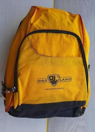 Рюкзак  bagland (желтый)