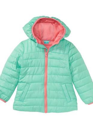 Куртка демисезонная бирюзовая для девочки  y.f.k. германия.